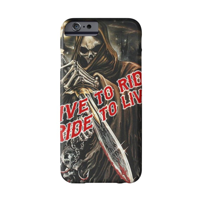 Reaper 2 Accessories Phone Case by Vegans Choice Motorcycle Club