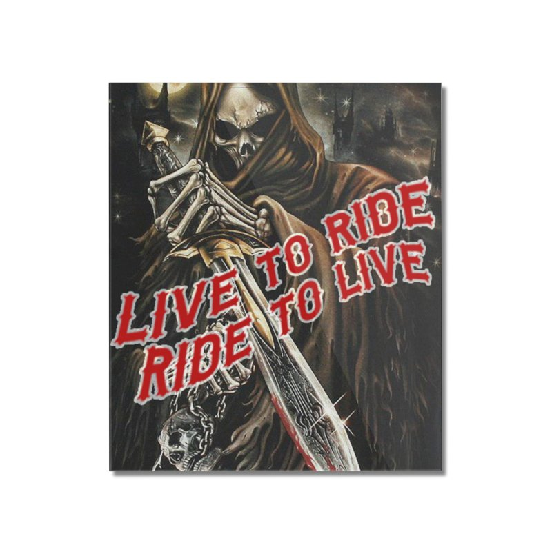 Reaper 2 Home Mounted Acrylic Print by Vegans Choice Motorcycle Club