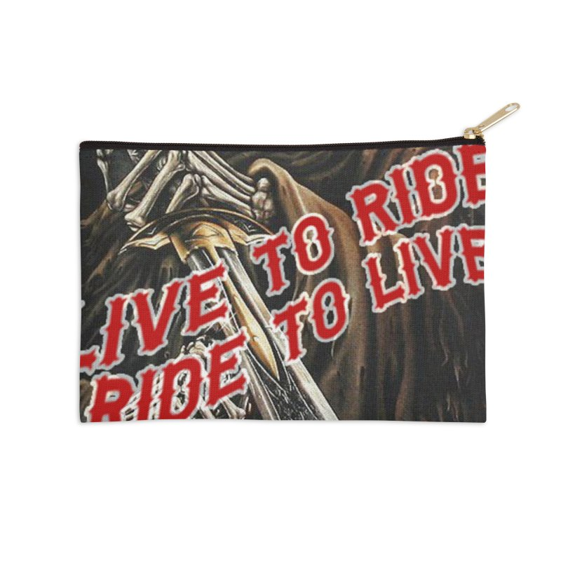 Reaper 2 Accessories Zip Pouch by Vegans Choice Motorcycle Club