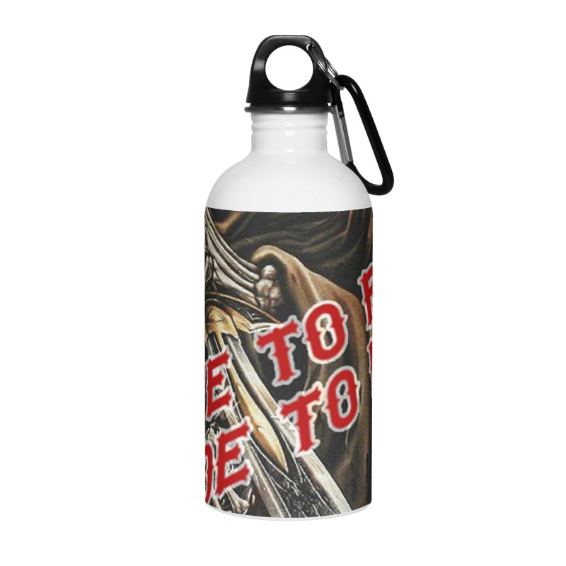Reaper 2 Accessories Water Bottle by Vegans Choice Motorcycle Club