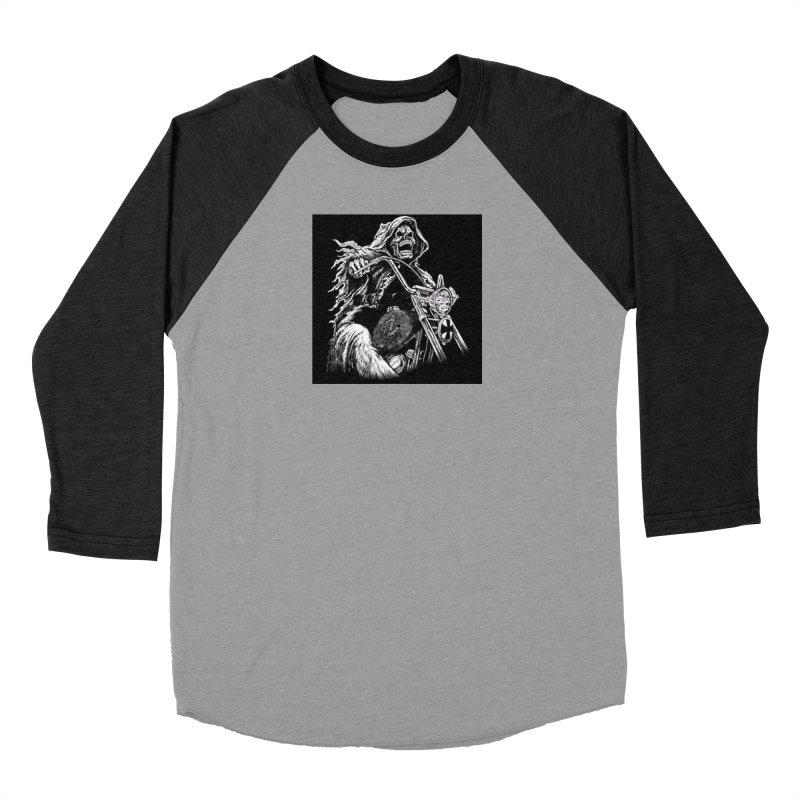 VCMC Skeleton Men's Baseball Triblend Longsleeve T-Shirt by Vegans Choice Motorcycle Club