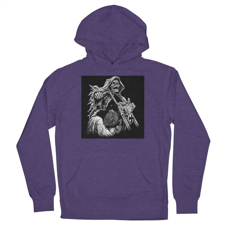 VCMC Skeleton Women's French Terry Pullover Hoody by Vegans Choice Motorcycle Club