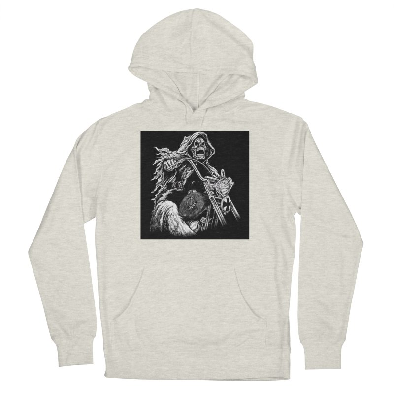 VCMC Skeleton Men's French Terry Pullover Hoody by Vegans Choice Motorcycle Club