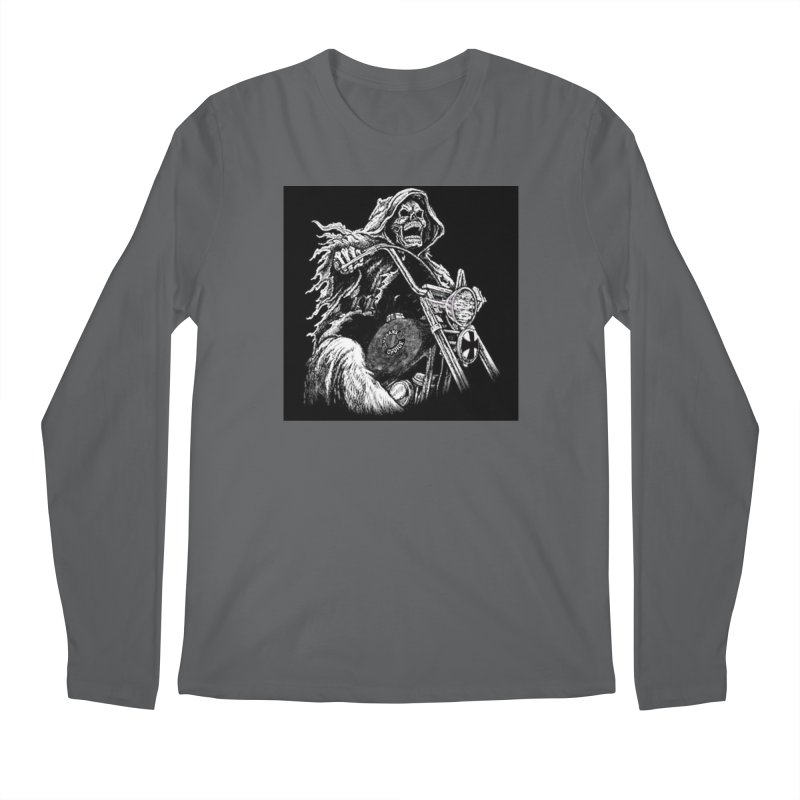 VCMC Skeleton Men's Regular Longsleeve T-Shirt by Vegans Choice Motorcycle Club