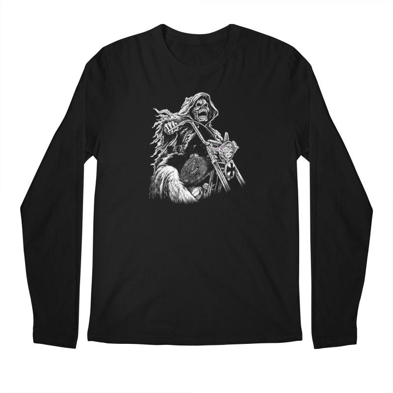 VCMC Skeleton Men's Longsleeve T-Shirt by Vegans Choice Motorcycle Club