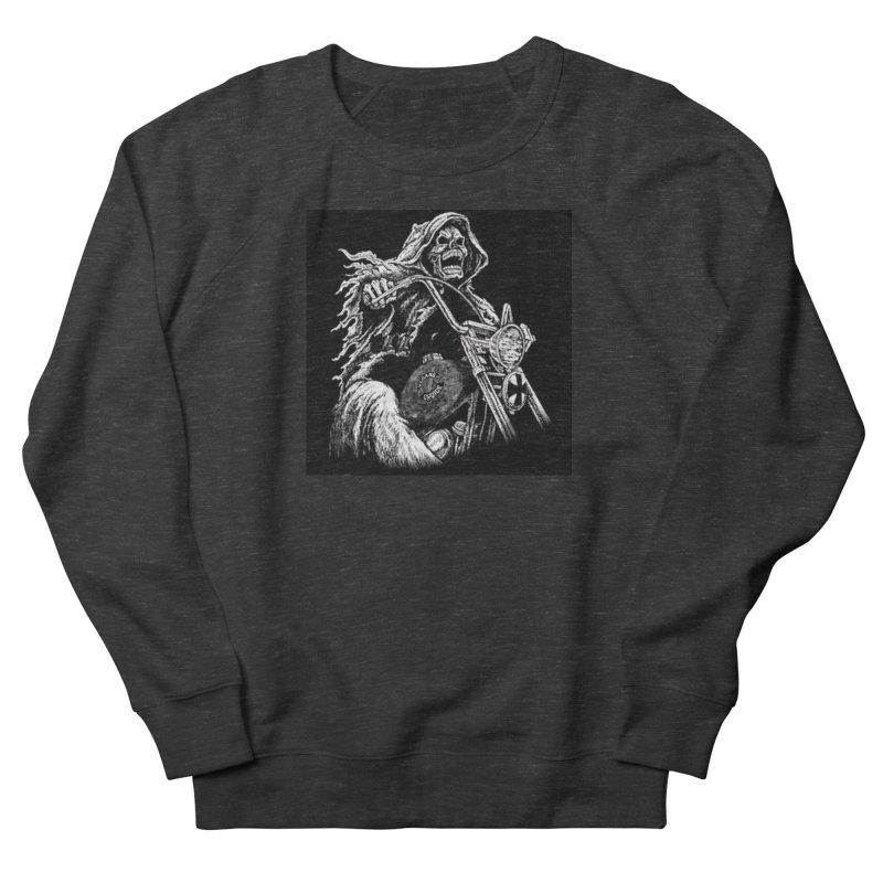 VCMC Skeleton Women's French Terry Sweatshirt by Vegans Choice Motorcycle Club