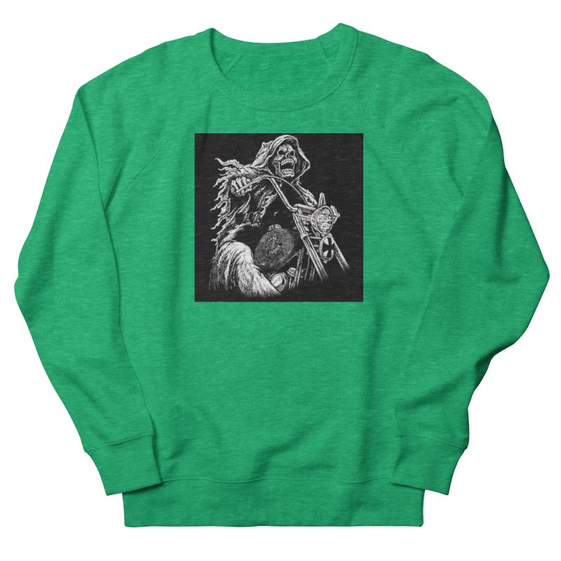 VCMC Skeleton Men's French Terry Sweatshirt by Vegans Choice Motorcycle Club