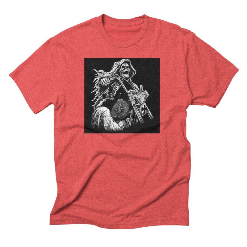VCMC Skeleton Men's Triblend T-Shirt by Vegans Choice Motorcycle Club