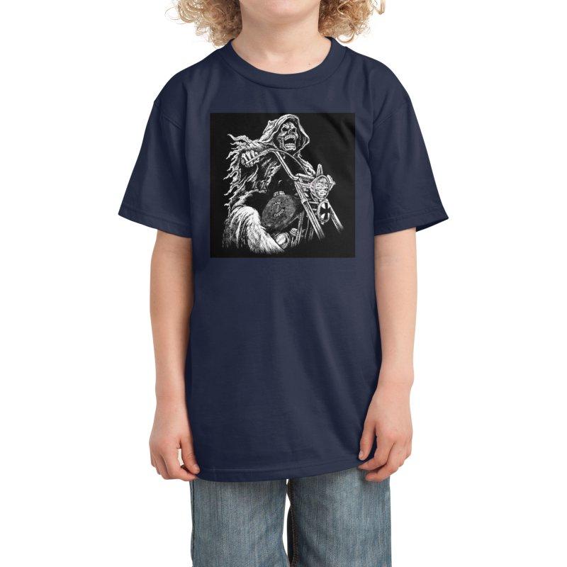 VCMC Skeleton Kids T-Shirt by Vegans Choice Motorcycle Club