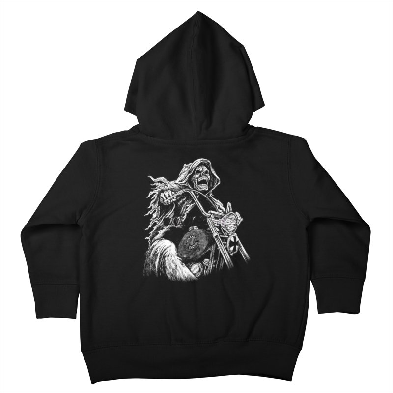 VCMC Skeleton Kids Toddler Zip-Up Hoody by Vegans Choice Motorcycle Club