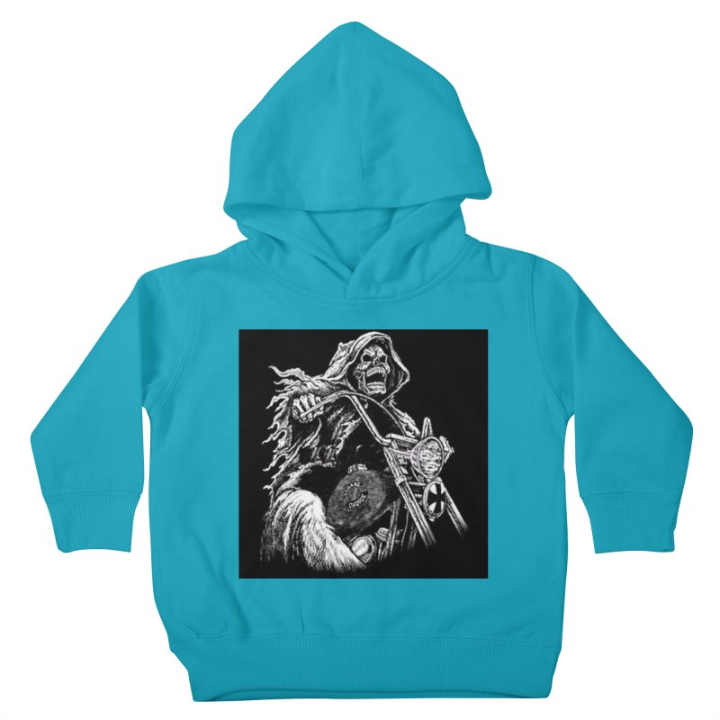 VCMC Skeleton Kids Toddler Pullover Hoody by Vegans Choice Motorcycle Club