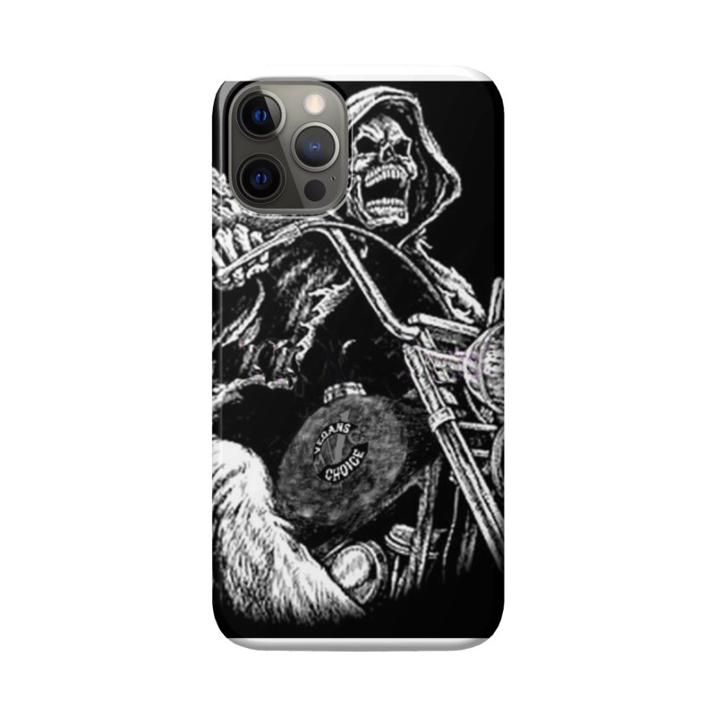 VCMC Skeleton Accessories Phone Case by Vegans Choice Motorcycle Club