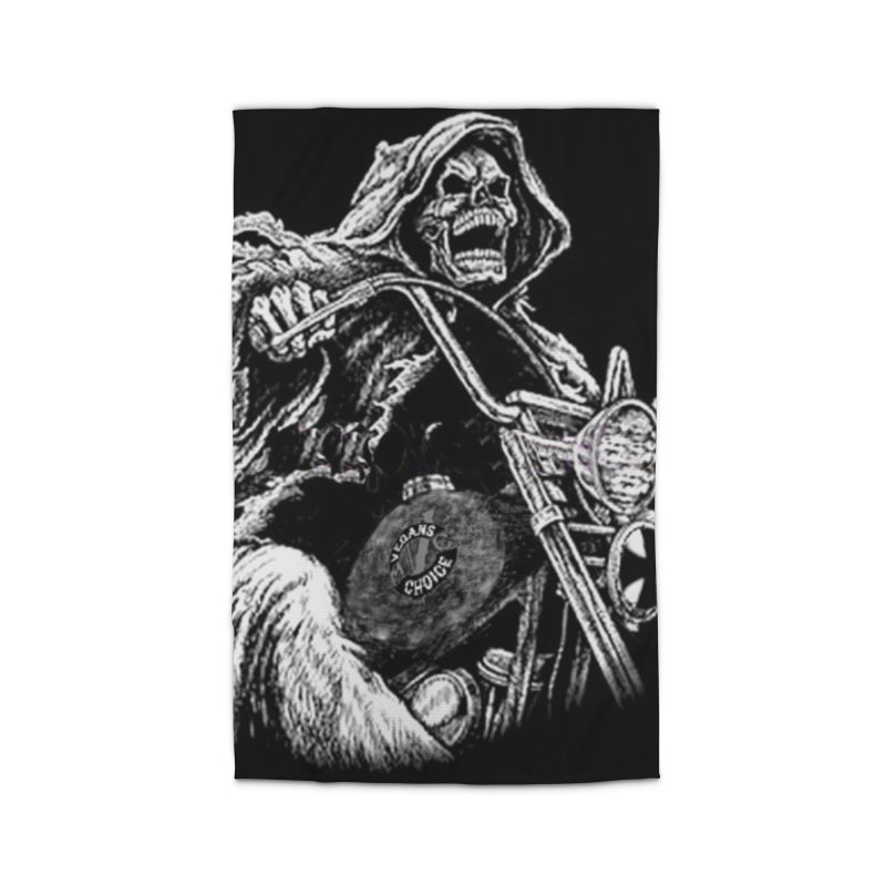VCMC Skeleton Home Rug by Vegans Choice Motorcycle Club