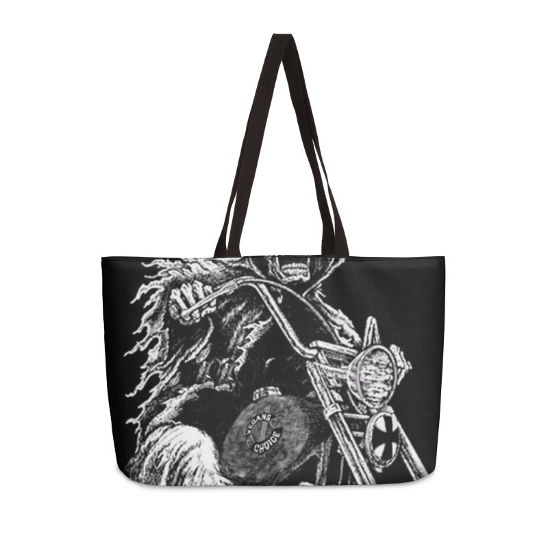 VCMC Skeleton Accessories Weekender Bag Bag by Vegans Choice Motorcycle Club