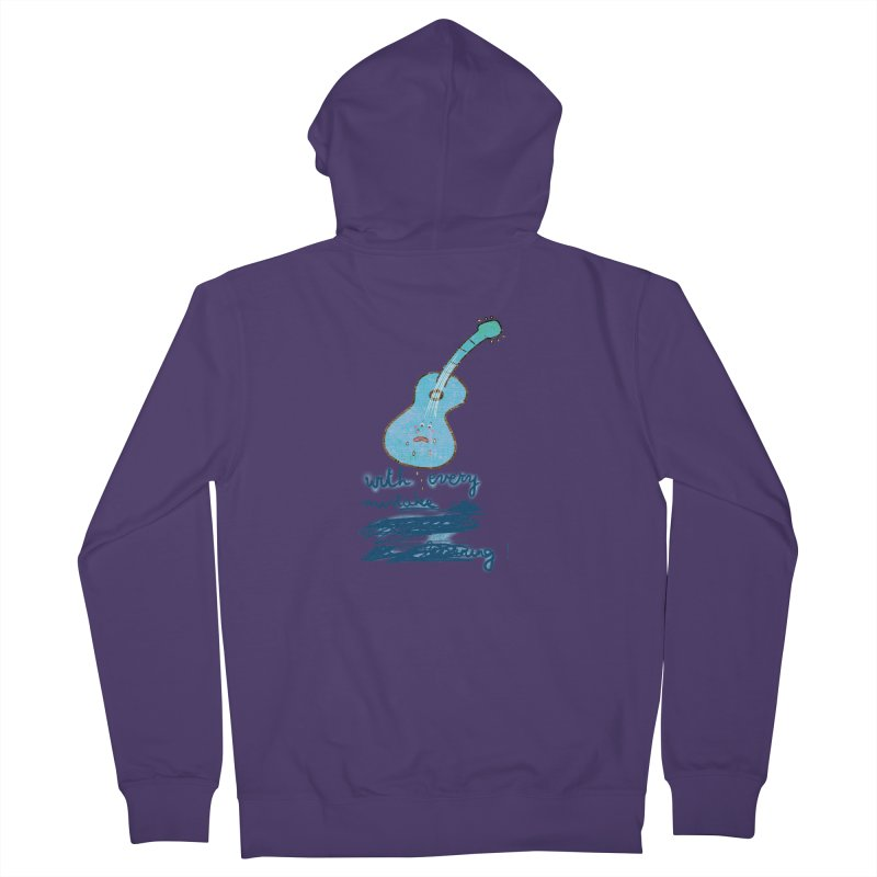 With every mistake... Women's Zip-Up Hoody by VeraChuckandDave's Artist Shop
