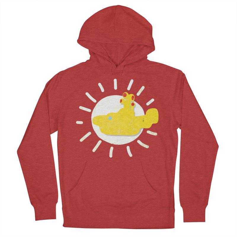 Here comes the sun... sub Women's Pullover Hoody by VeraChuckandDave's Artist Shop