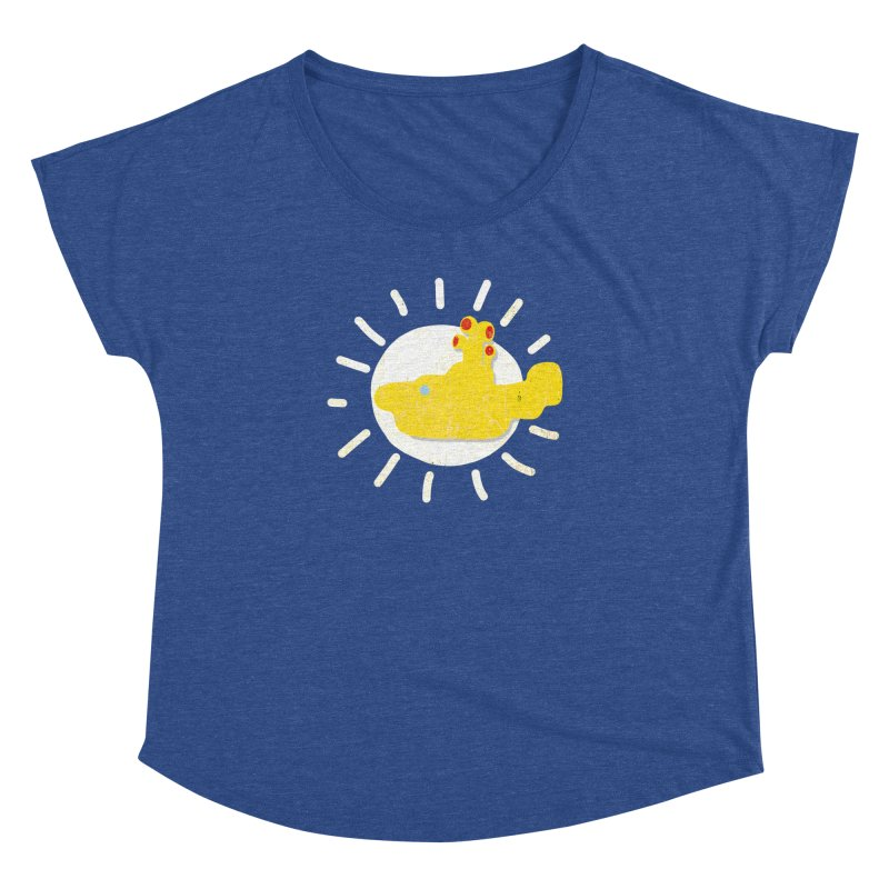 Here comes the sun... sub Women's Dolman by VeraChuckandDave's Artist Shop