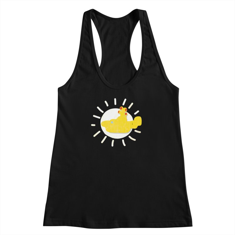 Here comes the sun... sub Women's Racerback Tank by VeraChuckandDave's Artist Shop