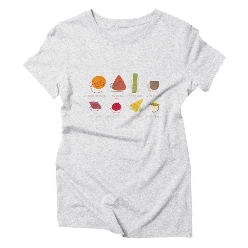 Savoy Truffle Women's Triblend T-shirt by VeraChuckandDave's Artist Shop