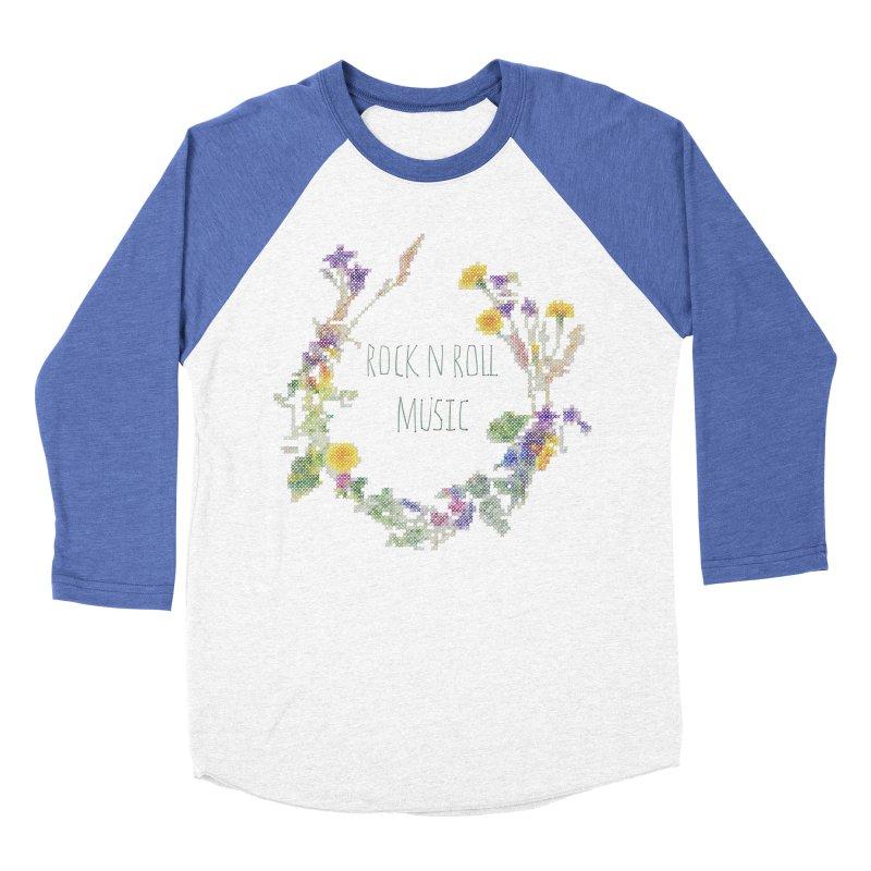 It must be rock n roll music! Women's Baseball Triblend T-Shirt by VeraChuckandDave's Artist Shop