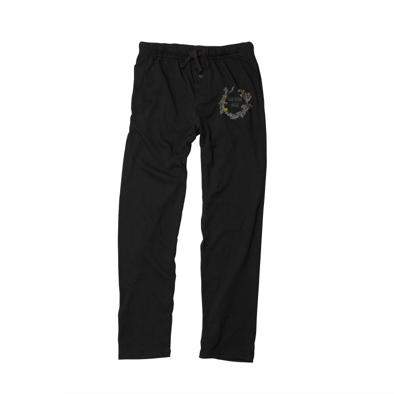 It must be rock n roll music! Women's Lounge Pants by VeraChuckandDave's Artist Shop
