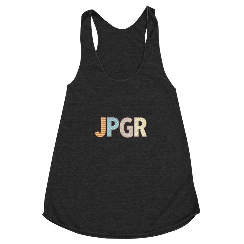 John, Paul, George and Ringo Women's Racerback Triblend Tank by VeraChuckandDave's Artist Shop