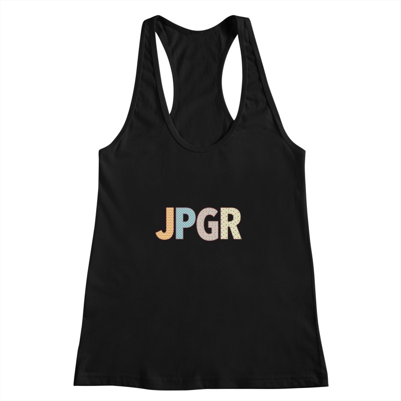 John, Paul, George and Ringo Women's Racerback Tank by VeraChuckandDave's Artist Shop