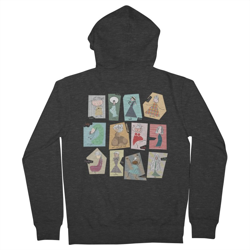 My name in a Beatles song! Women's Zip-Up Hoody by VeraChuckandDave's Artist Shop