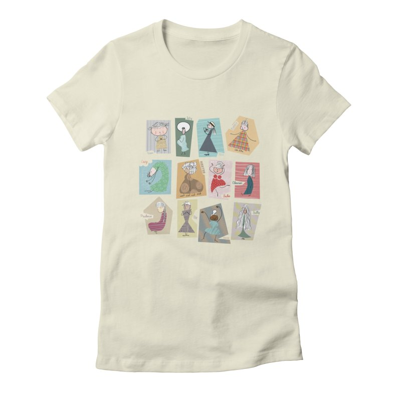 My name in a Beatles song! Women's Fitted T-Shirt by VeraChuckandDave's Artist Shop