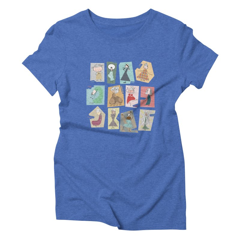 My name in a Beatles song! Women's Triblend T-Shirt by VeraChuckandDave's Artist Shop