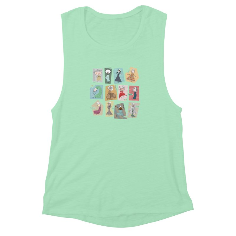 My name in a Beatles song! Women's Muscle Tank by VeraChuckandDave's Artist Shop