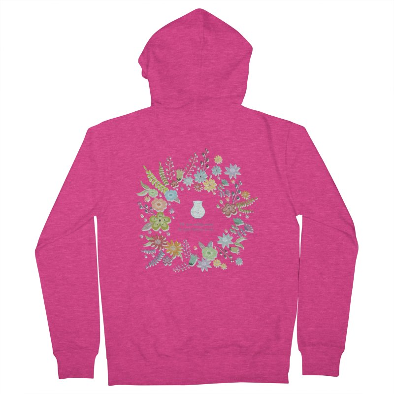 The space between Women's Zip-Up Hoody by VeraChuckandDave's Artist Shop