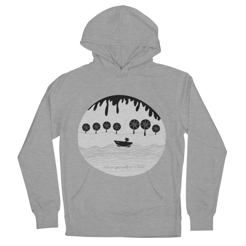 Picture yourself..., a variation. Women's Pullover Hoody by VeraChuckandDave's Artist Shop