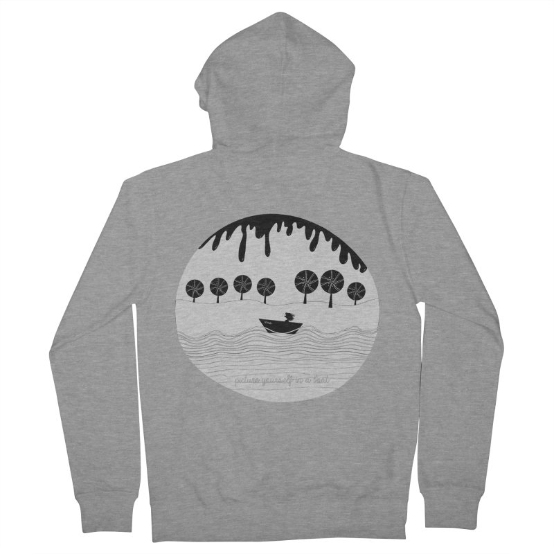 Picture yourself..., a variation. Women's Zip-Up Hoody by VeraChuckandDave's Artist Shop