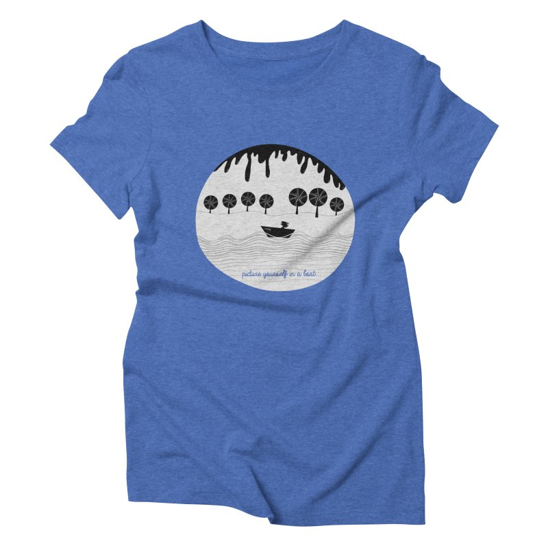 Picture yourself..., a variation. Women's Triblend T-shirt by VeraChuckandDave's Artist Shop