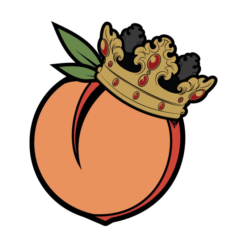 King Peach by Verations's Artist Shop