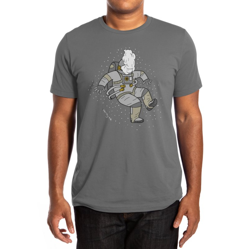 Space man Men's T-Shirt by Verity Ink
