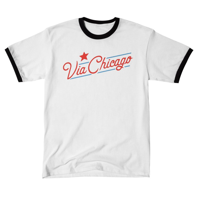Via Baseball T Men's T-Shirt by Via Chicago's March Shop