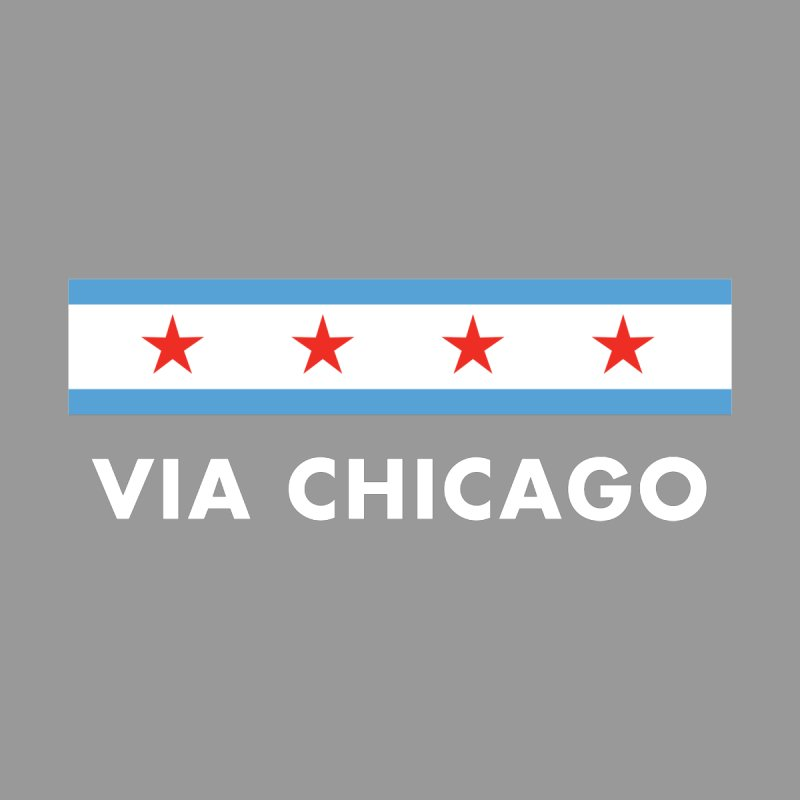 Via Chicago Flag 2 Men's Sweatshirt by Via Chicago's March Shop