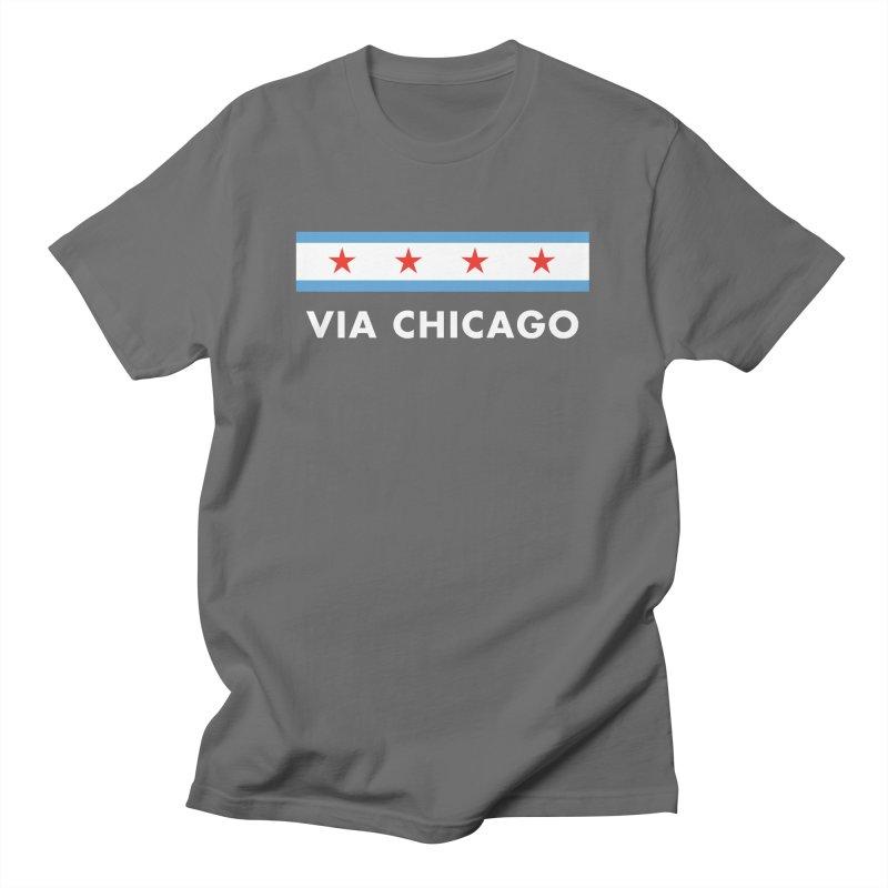Via Chicago Flag 2 Women's T-Shirt by Via Chicago's March Shop