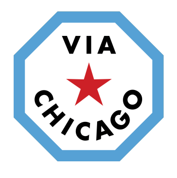 Via Chicago's March Shop Logo