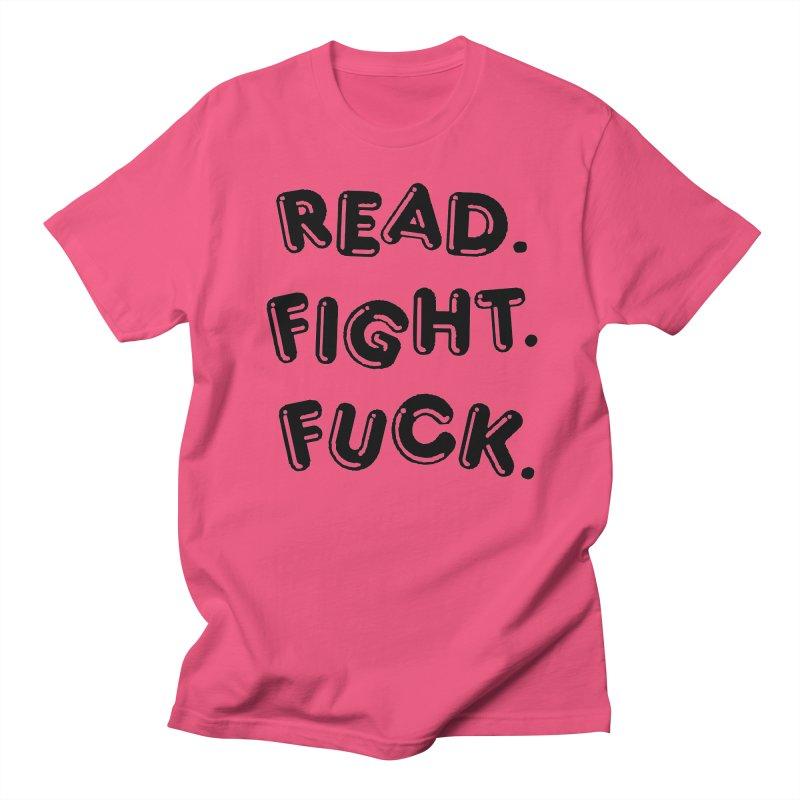 Read Fight Fuck Women's Regular Unisex T-Shirt by Vice Versa Press