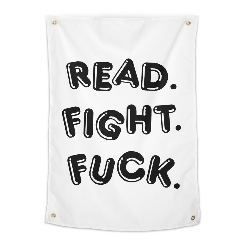 Read Fight Fuck Home Tapestry by Vice Versa Press