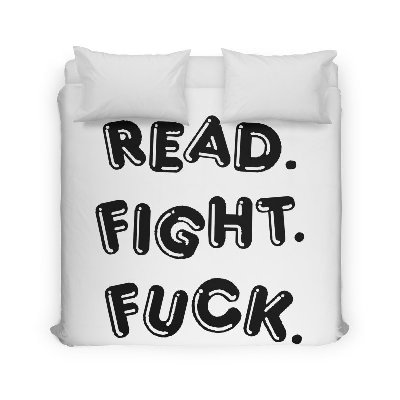 Read Fight Fuck Home Duvet by Vice Versa Press