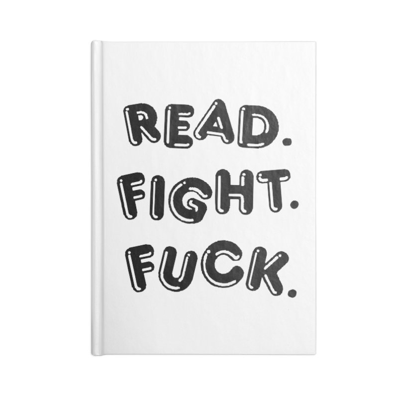 Read Fight Fuck Accessories Notebook by Vice Versa Press