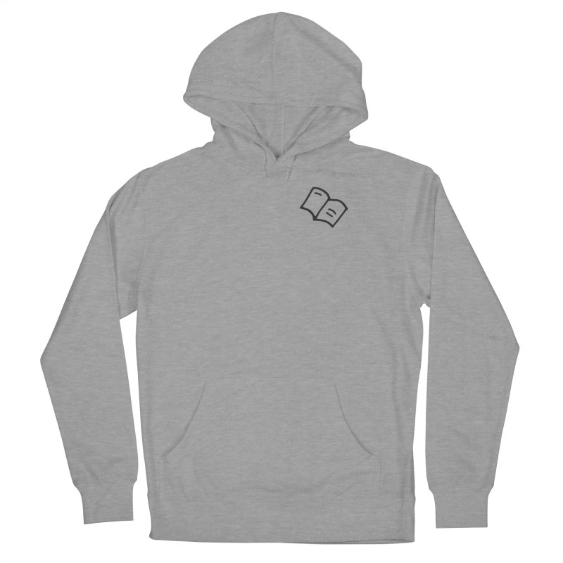 Leyendo Women's French Terry Pullover Hoody by Vice Versa Press