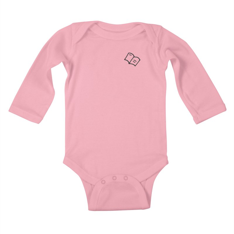 Leyendo Kids Baby Longsleeve Bodysuit by Vice Versa Press