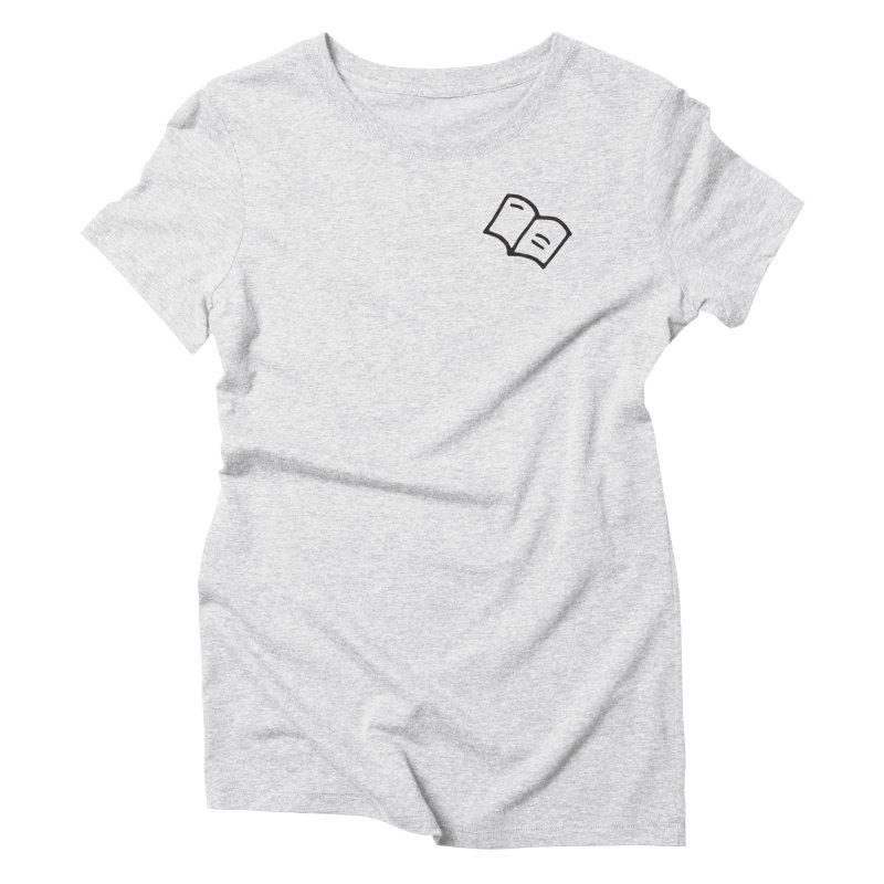 Leyendo Women's Triblend T-Shirt by Vice Versa Press