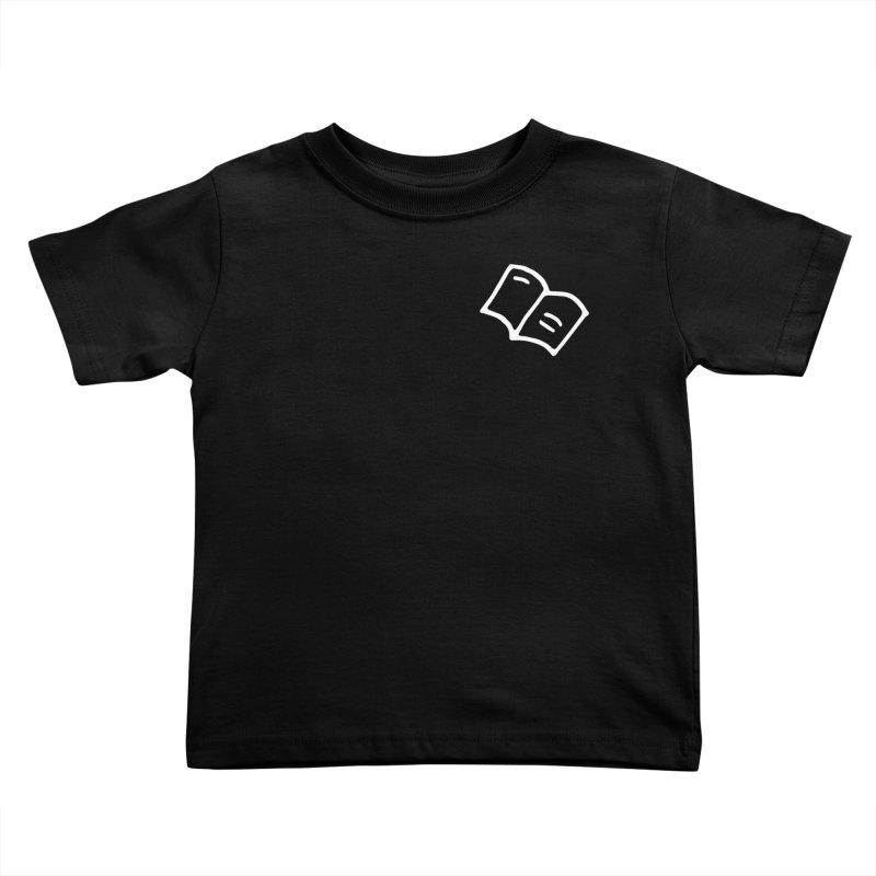 Leyendo (white) Kids Toddler T-Shirt by Vice Versa Press