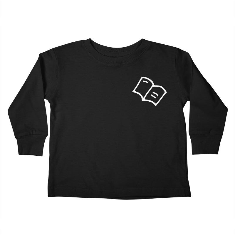 Leyendo (white) Kids Toddler Longsleeve T-Shirt by Vice Versa Press